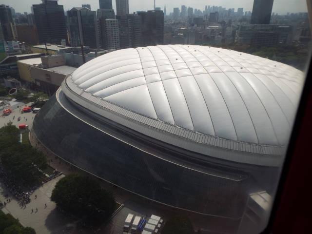 東京ドームの大きさと比較