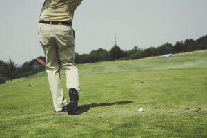 ゴルフ場も落ちやすい