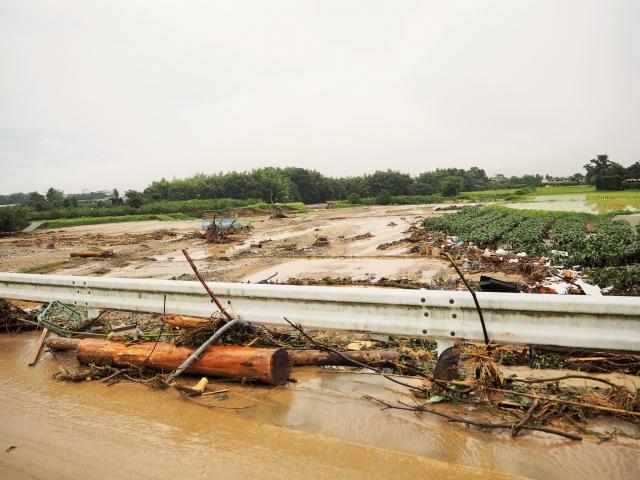 九州豪雨による被害