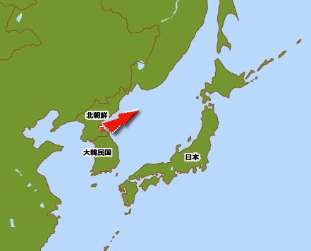 北朝鮮ミサイル イメージ発射図