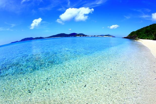 今年は暑いよ沖縄