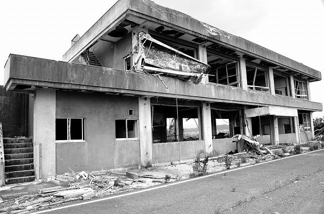 東海地震後