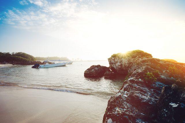 メキシコの綺麗な海
