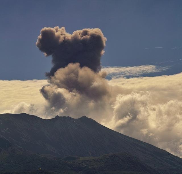 毎日桜島噴火