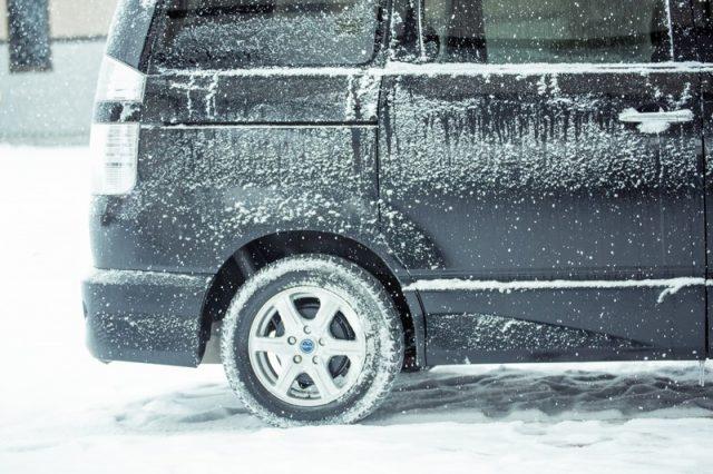 北海道は吹雪