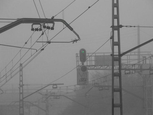 台風21号で電車事故