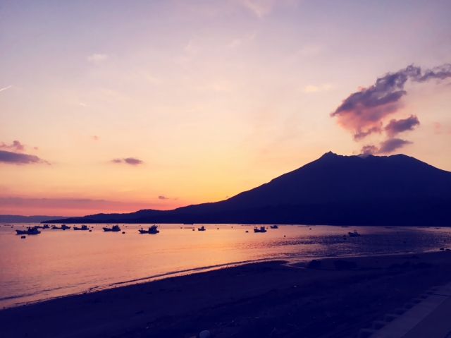 桜島の絶景