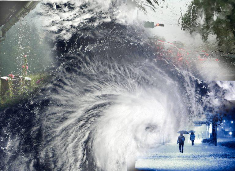 増えている自然災害