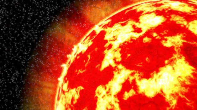 メラメラ灼熱の太陽