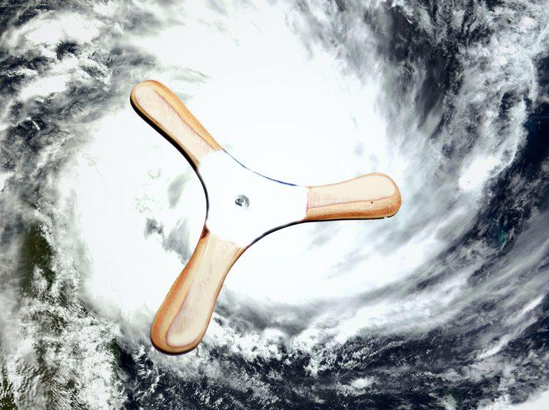 台風13号(サンサン)接近