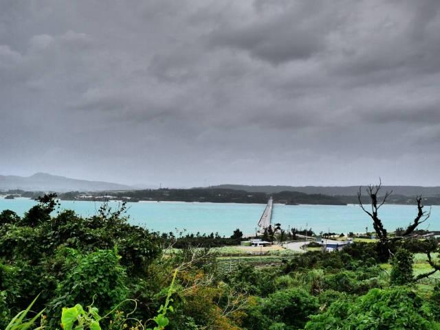沖縄は台風対策が早い!!