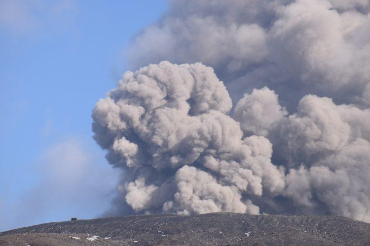 2015年9月14日 阿蘇山噴火