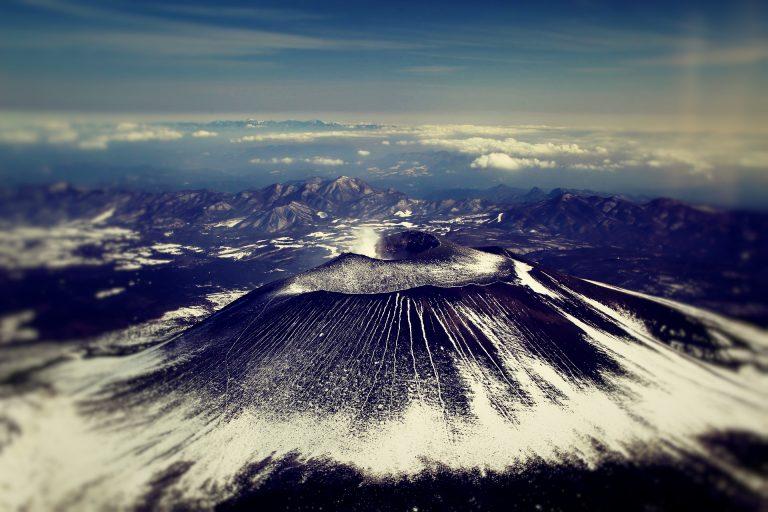 浅間山が10年ぶりに